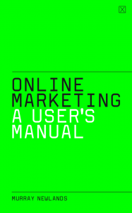 Online Marketing Book Cover Lime Green